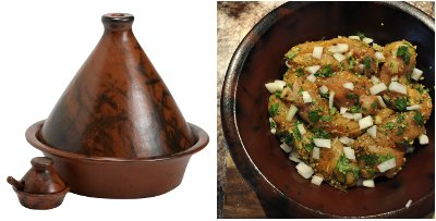 Brown Tagine with chicken