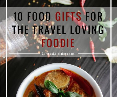 Picking the perfect gift can be tricky, so we've collected some of our favorite unique food gifts from around the world to give you some great gift ideas for the food lovers on your list. | CuriousCuisiniere.com