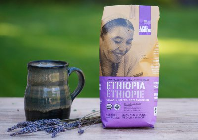Fair Trade coffee from Level Ground Trading Company. Taste single origin coffee from regions of Africa, and more!