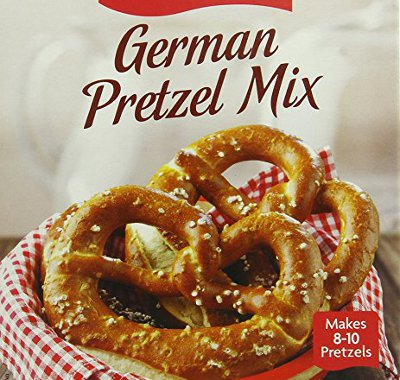 Make authentic German pretzels from the comfort of your home with this easy to use mix from Kathi.