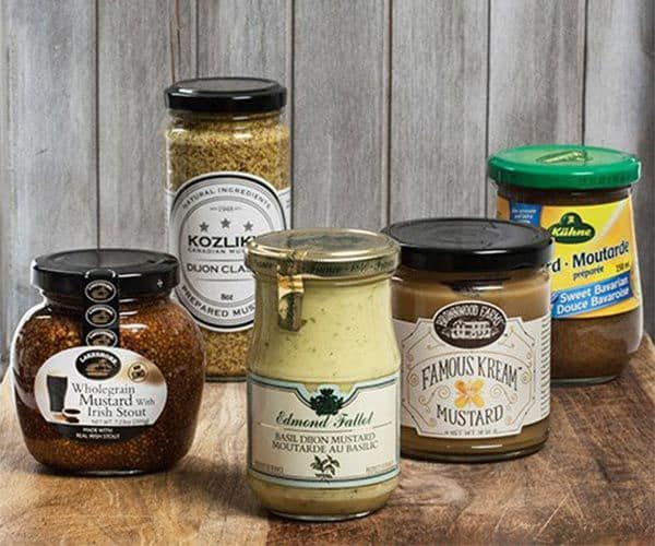 Mustard Around The World Gift Set