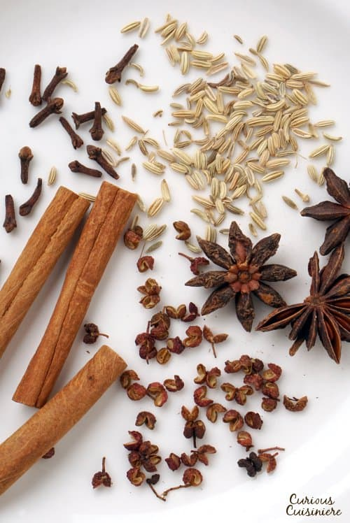 Make your own Homemade Chinese Five Spice powder for a seasoning mix that is bursting with fresh, authentic Asian flavor! | www.CuriousCuisiniere.com