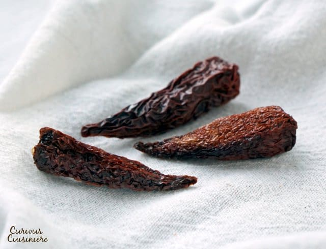 Chipotle peppers are made from smoked, ripe jalapeno peppers. | www.CuriousCuisiniere.com