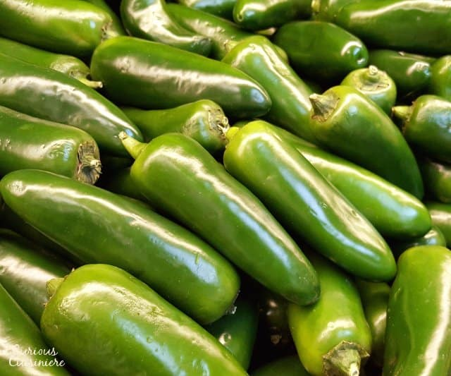 Jalapenos are one of the most common Mexican chiles in the US.