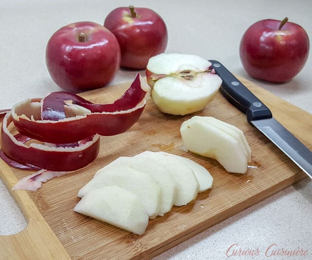 Apples for German Apfelstrudel Apple Strudel | Curious Cuisiniere