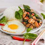 Pad Krapow Gai (Thai Basil Chicken)