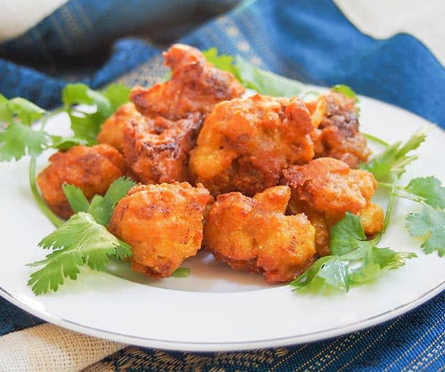 Cauliflower Pakora - Cauliflower fritters