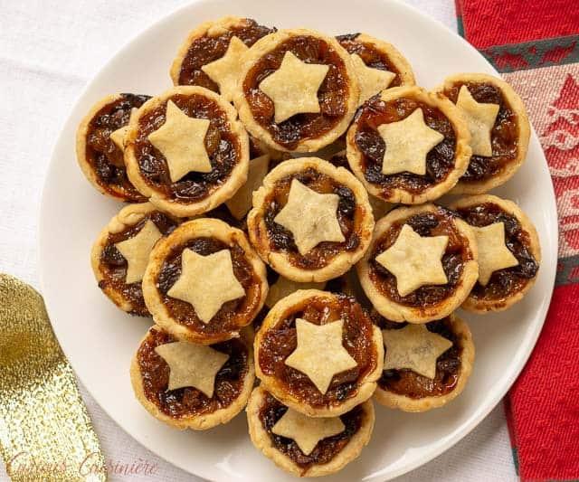 Mini Mince Pies Recipe Curious Cuisiniere