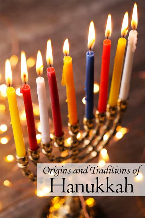 Hanukkah is one of them more well-known Jewish holidays. It's a time for lighting candles and eating fried food. But what does Hanukkah celebrate and how is it celebrated? Learn more about the origins and traditions of Hanukkah! | www.CuriousCuisiniere.com