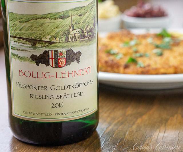 German Riesling Spatlese from Bollig-Lehnert | Curious Cuisiniere