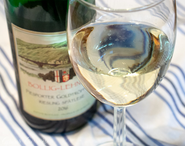German Riesling In A Glass | Curious Cuisiniere