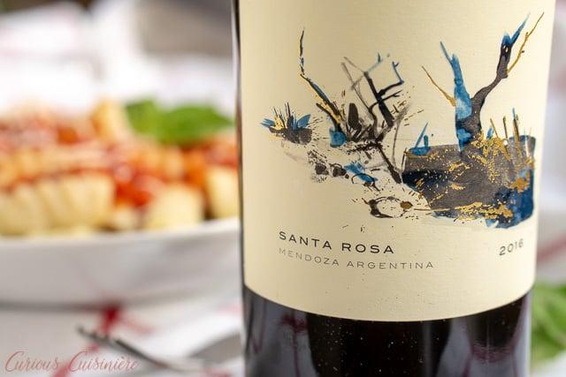 Zuccardi Serie A Bondara wine from Mendoza Argentina | www.CuriousCuisiniere.com