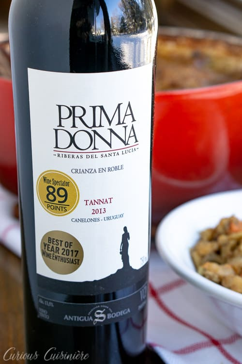 Tannat wine from Antigua Bodega Uruguay | www.CuriousCuisiniere.com