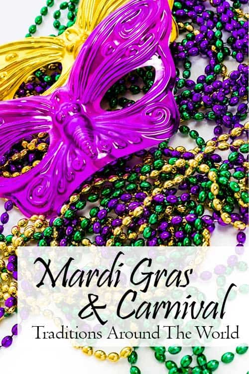 Mardi Gras is the last day of the festive period of Carnival. It has many names around the world, but all refer to the time of partying, parades, and good food before the Christian fasting period of Lent begins.   www.CuriousCuisiniere.com