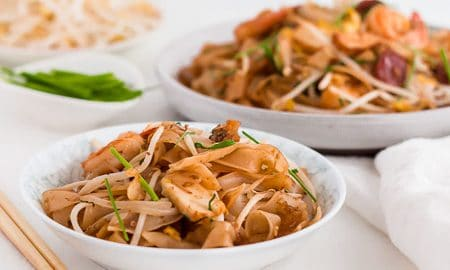 Char Kway Teow Malaysian Stir Fried Rice Noodles Curious Cuisiniere