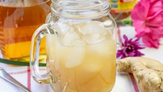 Switchel (Caribbean Honey Ginger Drink) • Curious Cuisiniere