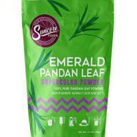 Suncore Foods - 100% Pure Pandan Leaf Natural Supercolor Powder, Resealable, 3.5oz (1 Pack)