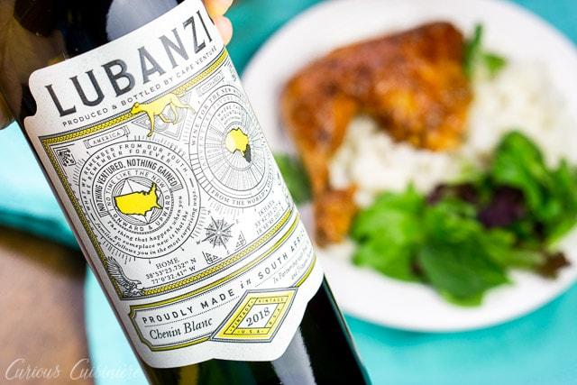 Lubanzi Chenin Blanc wine bottle