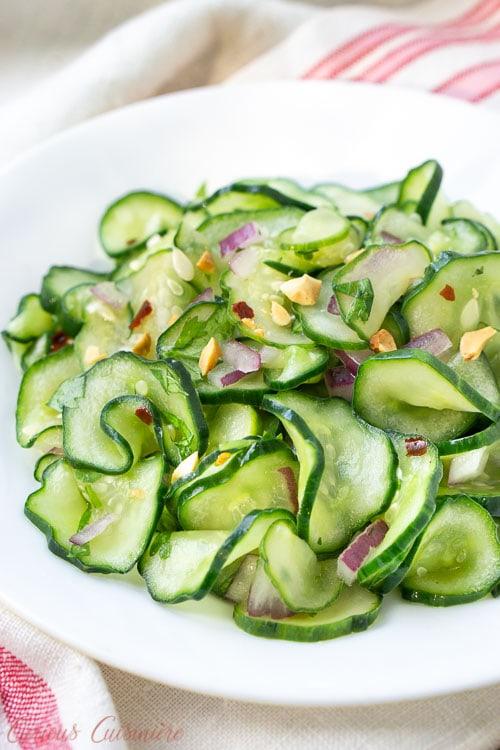 Cucumber Salad Recipe Rice Vinegar