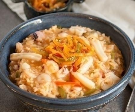 Guacho de Mariscos (Panamanian Seafood Stew)