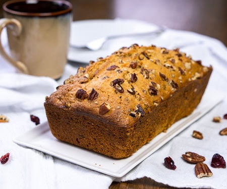 Southern Sweet Potato Bread Quick Bread