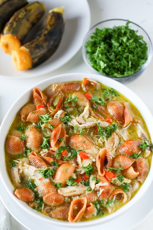 Bolivian Chicken And Noodle Soup Curious Cuisiniere