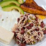 Casamiento (Salvadoran Beans and Rice)