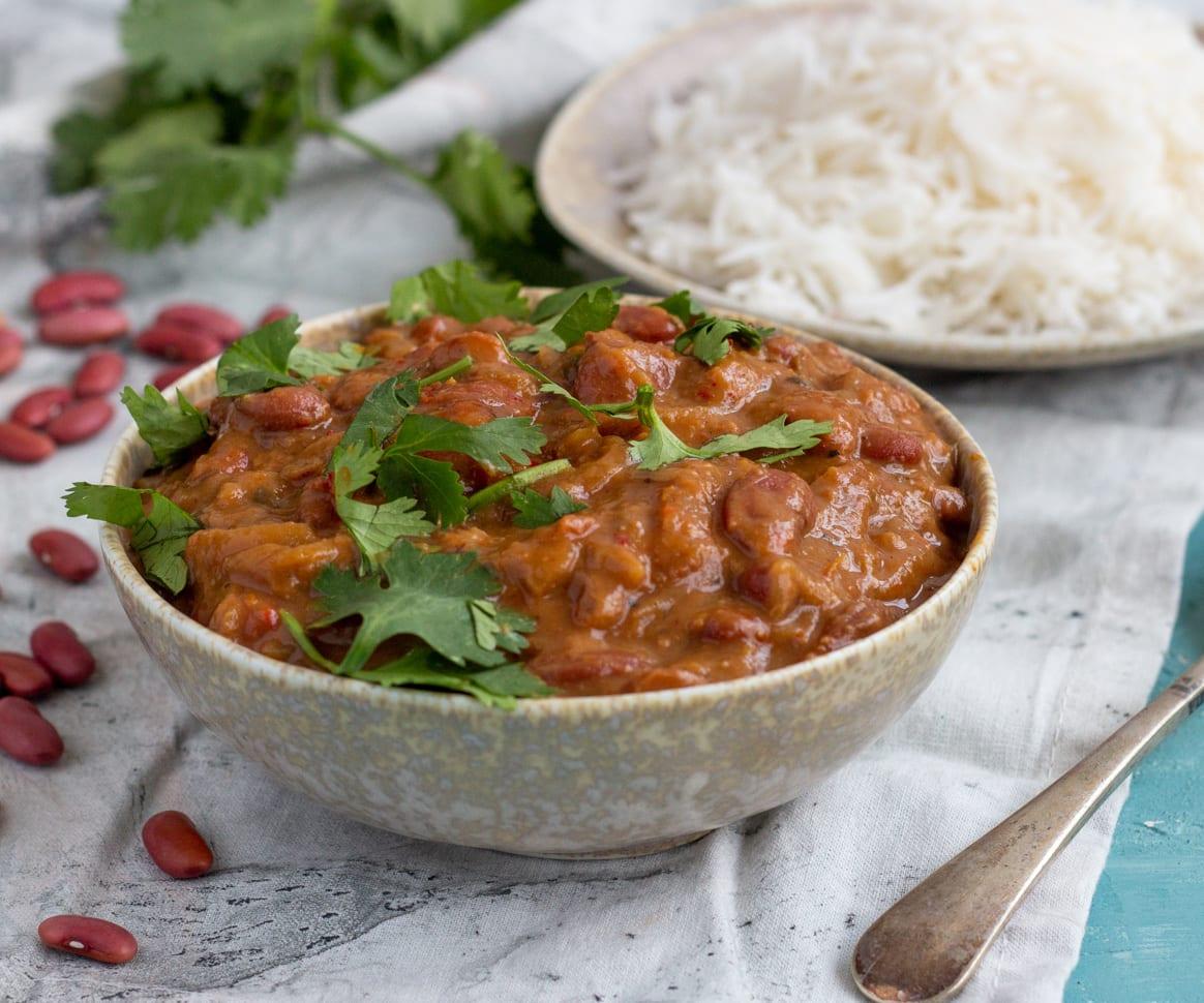 Rajma Masala (North Indian Red Kidney Bean Curry)