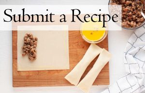 Submit a recipe button