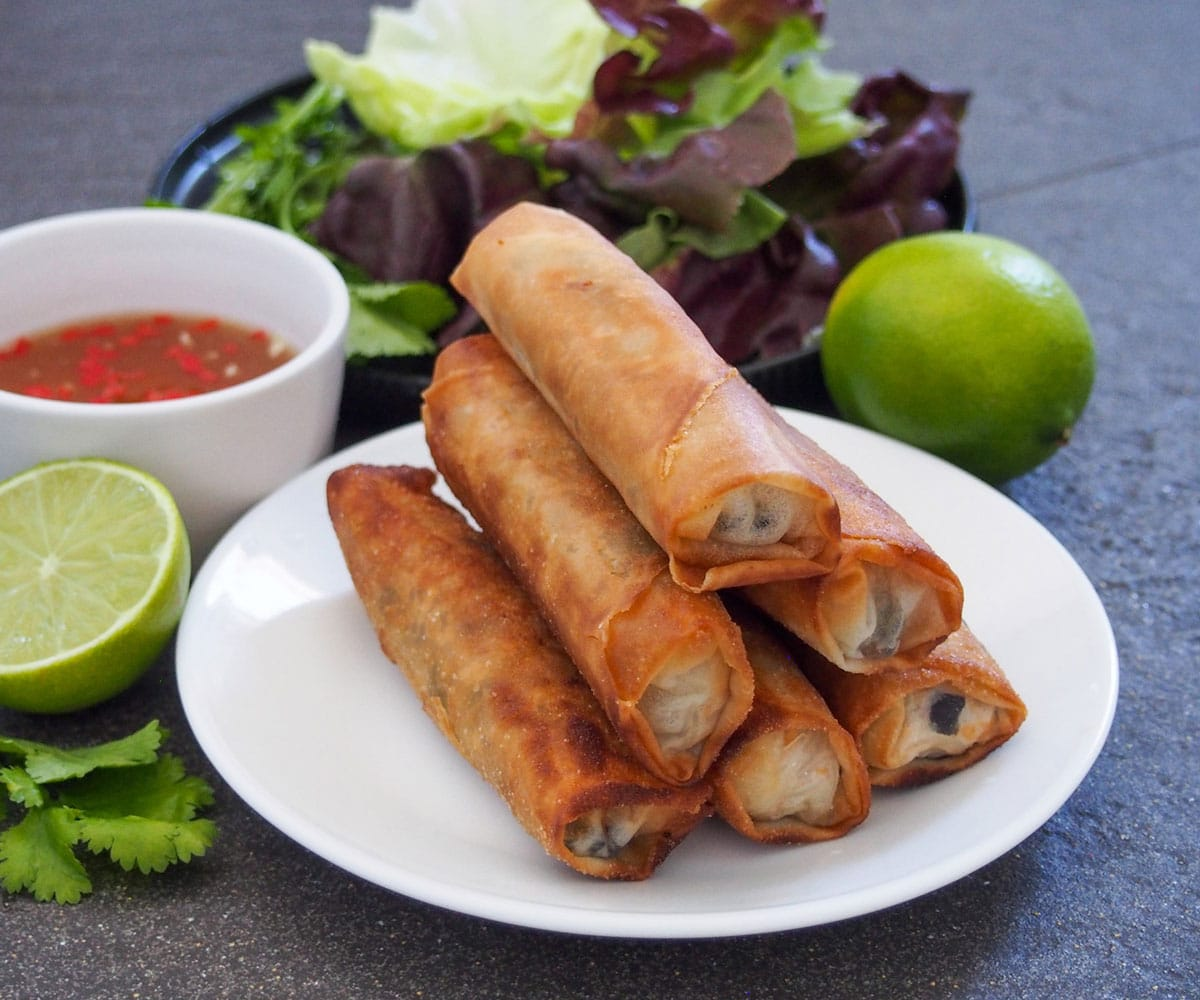 Vietnamese Spring Rolls - Cha Gio ready to eat