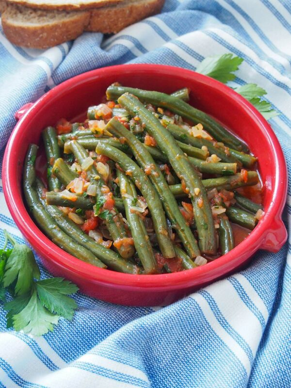 Fasolakia - Greek Green Beans Side dish