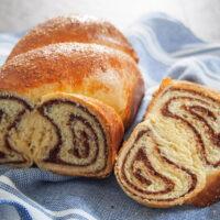 Cozonac Romanian Easter Bread