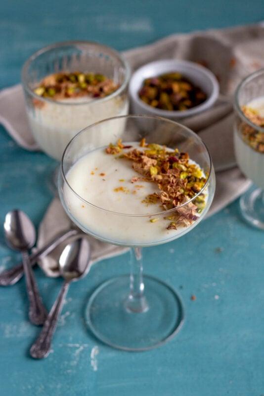 Mahalabia - Middle Eastern milk pudding