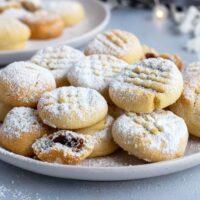Egyptian cookies- filled kahk