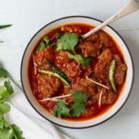 Pakistani Lamb Karahi curry