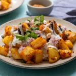 Aloo Chaat (Potato Chaat)