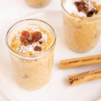 Arroz Zambito - Peruvian Rice Pudding in a jar